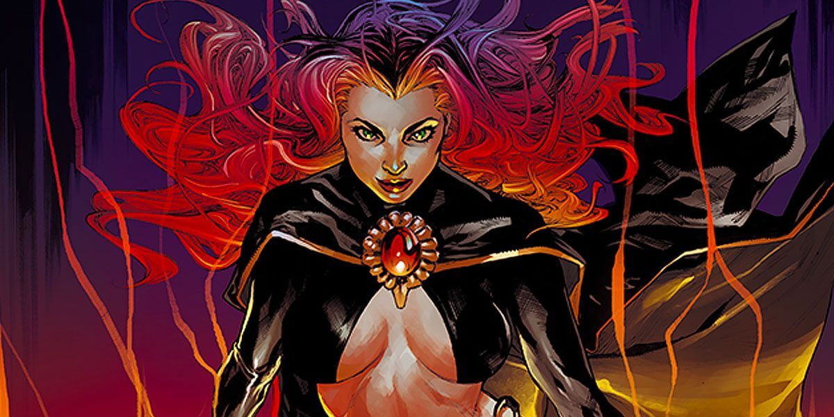Madelyne Pryor in her Goblin Queen outfit