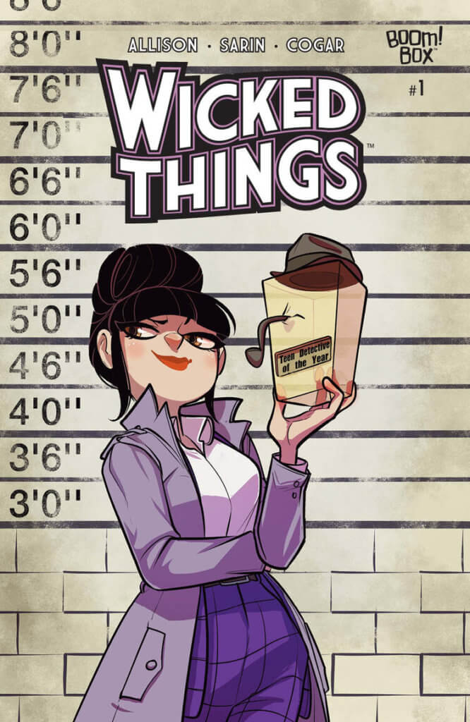 Wicked Things #1 John Allison (writer), Jim Campbell (letterer), Whitney Cogar (colourist), Max Sarin (artist) BOOM! Box March 18, 2020