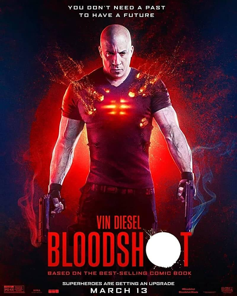 Bloodshot Poster IMDB. Columbia Pictures. March 2020
