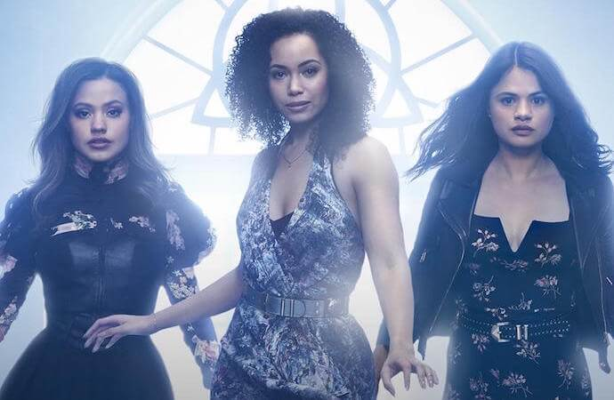 The three Charmed sisters, image via CW Charmed on Twitter