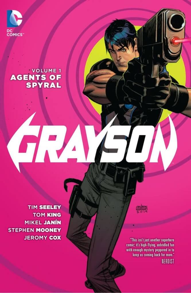 Grayson_Volume_1_Cover A DC Comics. 2014