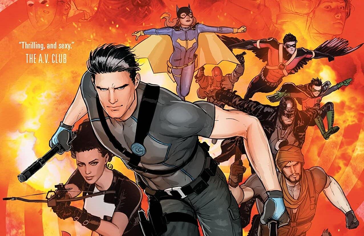 Grayson_Volume_5_Cover A DC Comics. 2014