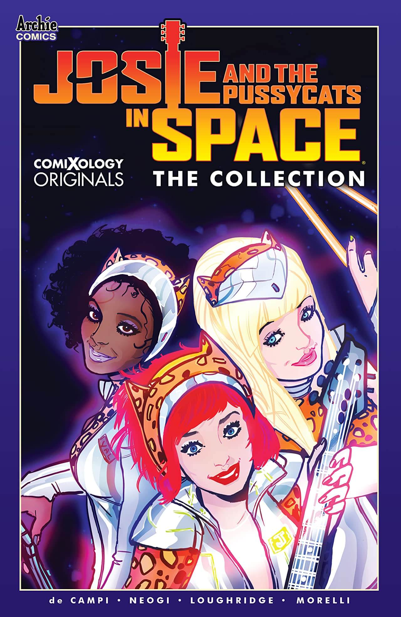 Josie and the Pussycats in Space Cover A. Archie Comics. April 2020