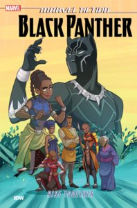 Marvel Action - Black Panther - Rise Together TPB. IDW Publishing