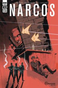 Narcos #3. IDW Publishing