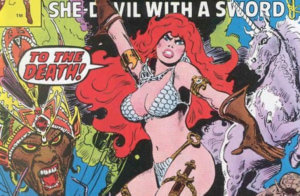 [Patreon Exclusive] The Fighting First Lady: Red Sonja in the 1970s
