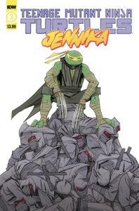 Teenage Mutant Ninja Turtles - Jennika #3. IDW Publishing