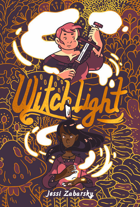 Witchlight cover by Jessi Zabarsky from Penguin Random House