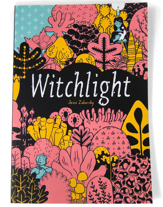 Witchlight original cover by Jessi Zabarsky from Czap Books
