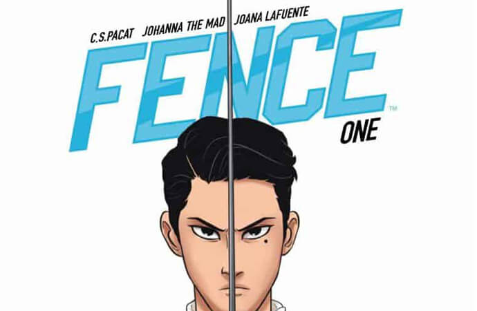 cropped cover of Fence! Volume 1.
