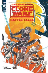 Star Wars Adventures: The Clone Wars: Battle Tales #1 Cover A. May 2020. IDW Publishing