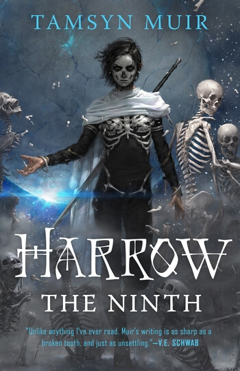 the cover to Harrow the Ninth by Tamsyn Muir