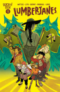 Lumberjanes #72, March 2020, BOOM! Box, cover by Kat Leyh
