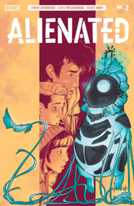 Alienated #2, March 2020, BOOM! Studios, cover by Chris Wildgoose
