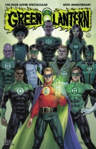 Green Lanterns through the Ages