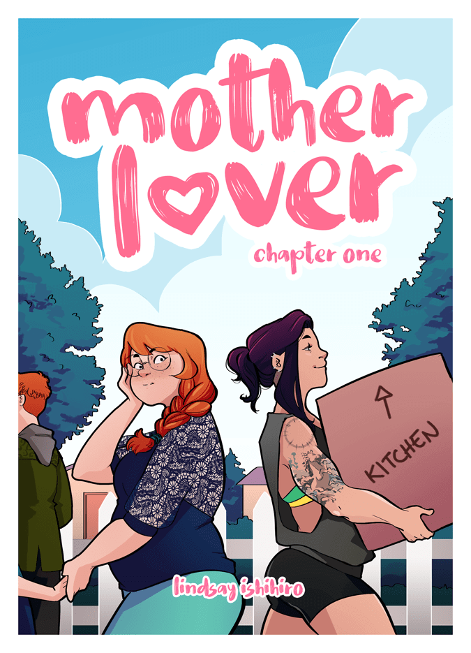 cover page of motherlover by lindsay ishihiro