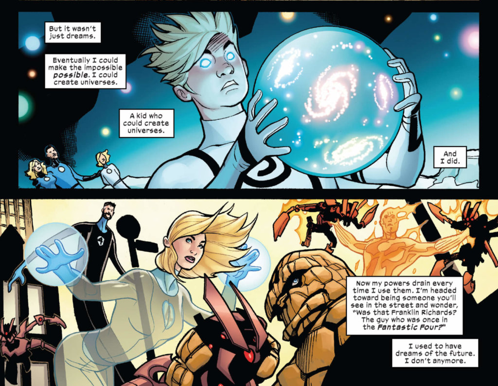 Franklin Richards discusses not making plans for the future anymore