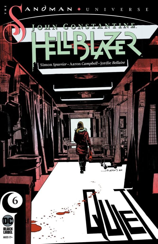 The cover to John Constantine: Hellblaze