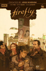 Firefly #16, cover by Marc Aspinall, BOOM! Studios, 2020
