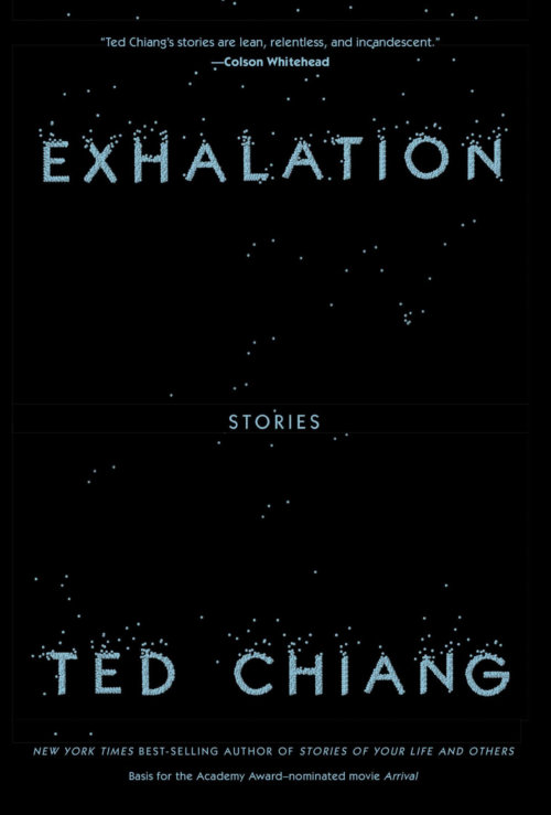 Cover of Exhalation: Stories by Ted Chiang