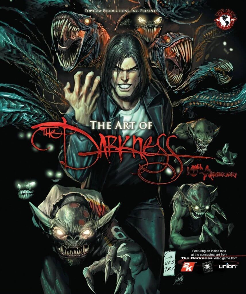 The Art of the Darkness cover, Top Cow, 2007-2017