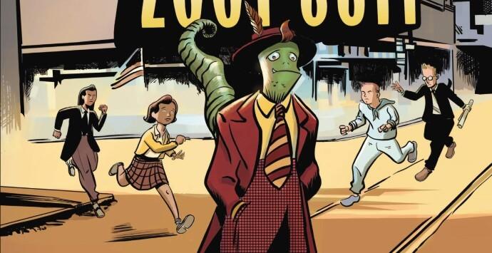 INTERVIEW: Marco Finnegan Reimagines LA's Zoot Suit Riots With a SciFi Twist in Lizard in a Zoot Suit