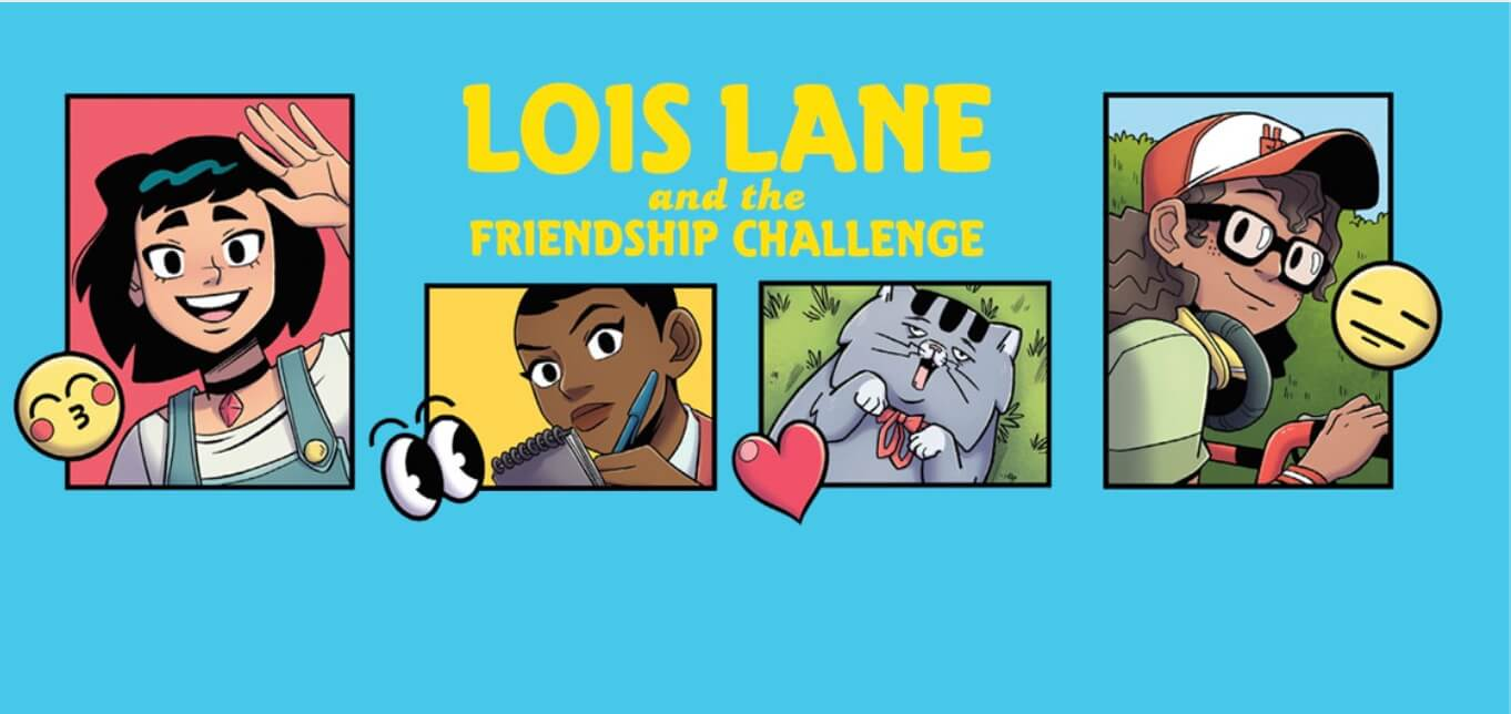 Art by Brittney Williams for Lois Lane and the Friendship Challenge
