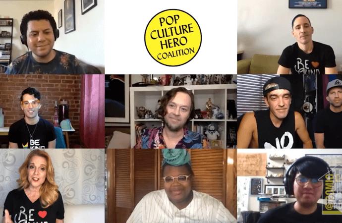 ComicCon@Home: Lights, Camera, LGBTQI-Identity! Never Alone