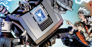 NEWS-Transformers-Back to the Future. IDW Publishing