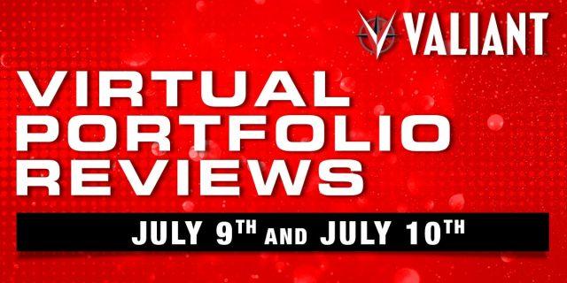 Valiant portfolio review banner