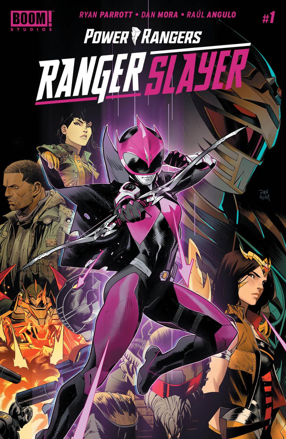 Power Rangers: Ranger Slayer #1 Cover A. Boom! Studios. June 2020