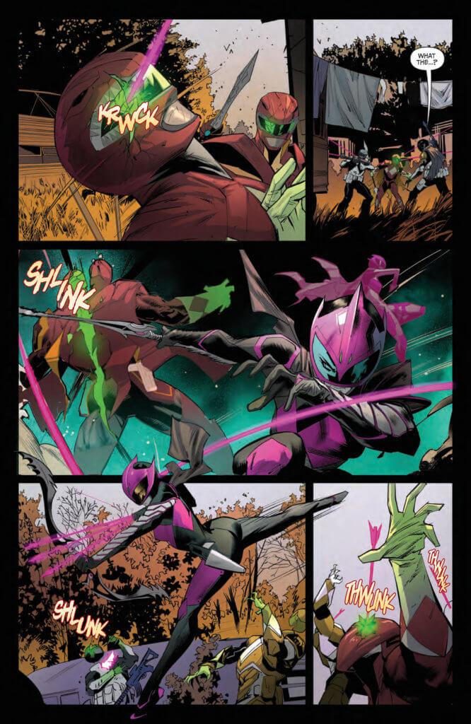 Power Rangers: Ranger Slayer #1 Page 7. Boom! Studios. June 2020