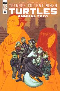 TMNT-Annual2020_cvrRI. IDW Publishing