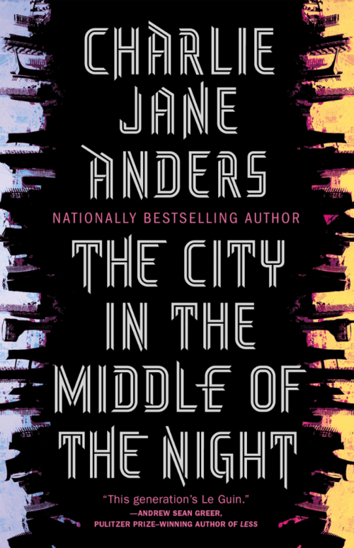 Cover of The City in the Middle of the Night by Charlie Jane Anders