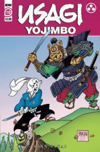 Usagi Yojimbo #10. IDW Publishing