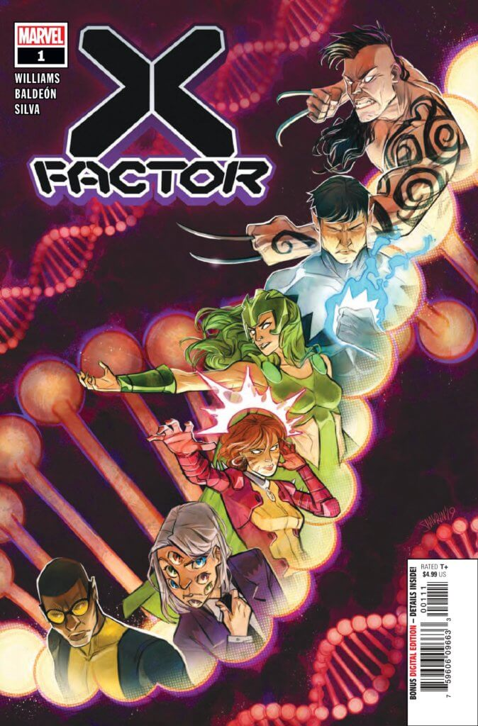 Cover of X-Factor (2020) Issue 1