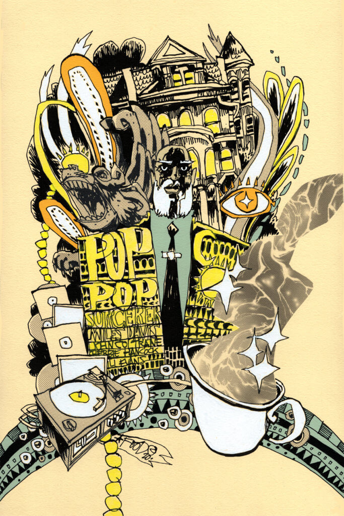 Illustrations by Jim Mahfood from Sorcerers