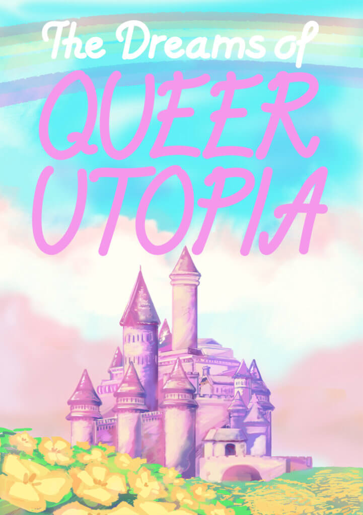 The Dreams of Queer Utopia cover from queerwebcomic.com