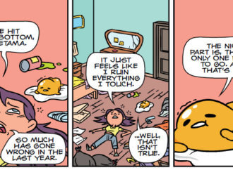 REVIEW: Gudetama: Adulting for the Lazy Is Not Entirely What It's Cracked Up To Be