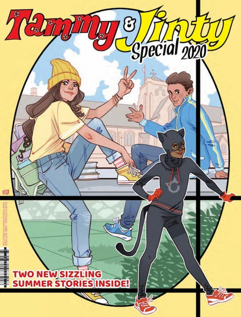 Tammy & Jinty Special 2020 civer