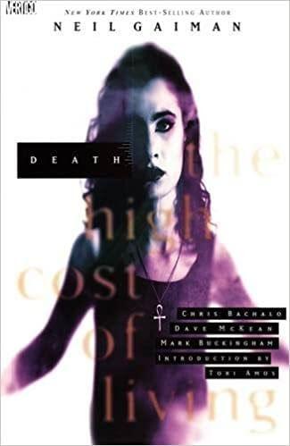 Death: The High Cost of Living (cover), Writer: Neil Gaiman, Art: Chris Bachalo, Dave McKean, Mark Buckingham, Vertigo, 1993