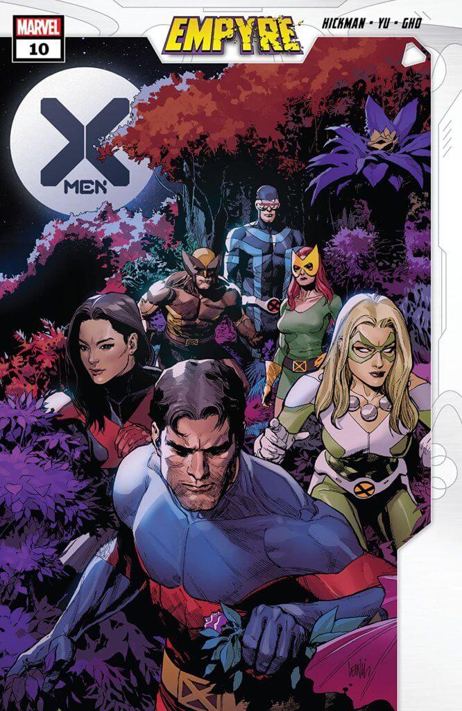 x-men #10 cover