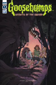 Goosebumps: Secrets of the Swamp #1. IDW Publishing