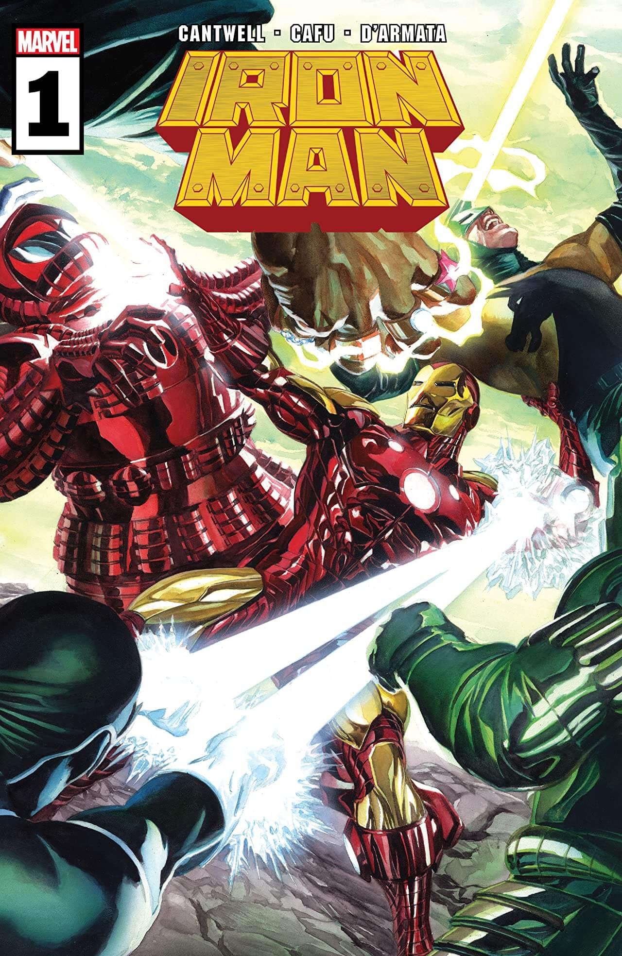 Iron Man #1 Cover A Alex Ross Marvel Comics. September 2020