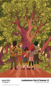Lumberjanes End of Summer #1, cover by Tillie Walden, BOOM! Studios, 2020