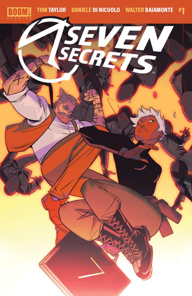 Seven Secrets #1 Cover, BOOM! Studios, 2020