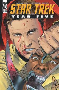 Star Trek - Year Five #14. IDW Publishing