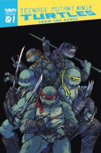 Teenage Mutant Ninja Turtles: Reborn: From the Ashes TPB. IDW Publishing