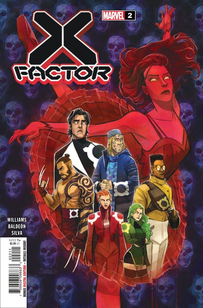 The cover to X-Factor 2 (2020) by Ivan Shavrin