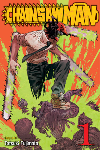 cover of chainsaw man